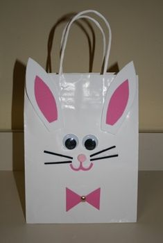 Easter Craft:  Easter Bunny Bag