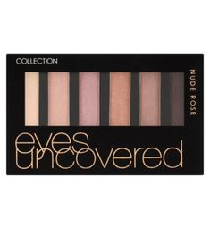 Collection Eyeshadow  Eyes Uncovered - Matt Nude Rose  at LoveMy Makup NZ Makeup And Beauty Blog, Beauty Products, High Pigment Eyeshadow, Eyeshadow Palette, Eye Palettes, Grey Palette, Makeup Store, Nude Boots