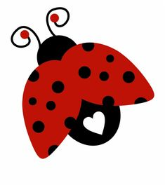 Baby Ladybug, Ladybug Party, Silhouette Clip Art, Silhouette Cameo Projects, Clipart Png, Cupcake Clipart, Bird Clipart, Lady Bug Tattoo, Images Instagram