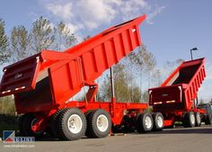 Semi Trailer, Dump Trucks, Trailers, Iron, Vehicles, Dump Trailers, Hang Tags, Car, Garbage Truck