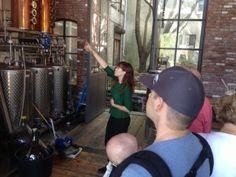 Tour Widow Jane Whiskey distillery in Family friendly Red Hook, Brooklyn.