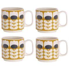 set van 4 stijlvolle espresso tasjes