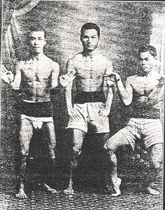 interesting take on karate origins