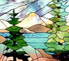Beautiful Stained Glass Window by zelma Glass Wall Art, Glass Painting, Tree Painting, Art, Glass Mosaic Art, Glass Art Projects, Stained Glass Panels