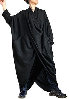 Chanvre doux robe longue lâche No1 (DNN-080-01)