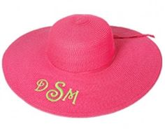 Hot Pink Derby/Floppy Hat $17.95