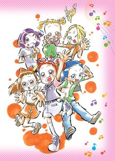 """Time-Limited """"Ojamajo Doremi"""" Shop to Open in Ikebukuro Next Month Toei Animation today announced that a time-limited shop dedicated to its Ojamajo Doremi anime franchise will open in the Lim. Doremi Anime, Anime Chibi, Anime Manga, Anime Cover Photo, Maho, Ojamajo Doremi, Digimon Adventure Tri, Gekkan Shoujo Nozaki Kun, Pictures To Draw"""