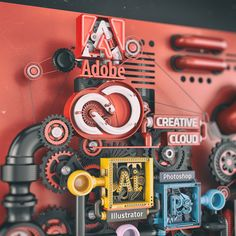 Adobe Creative Cloud - Just Add Ideas on Behance Miniature Photography, India Images, Life Poster, Bussiness Card, Photoshop Illustrator, 3d Typography, 3d Artwork, Environmental Graphics, Motion Design