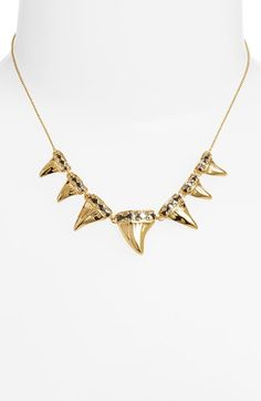 House of Harlow 1960 'Shark Tooth' Frontal Necklace