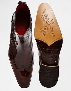 Jeffery West Leather Brogue Chelsea Boots Like & Repin. Noelito Flow. Noel http://www.instagram.com/noelitoflow