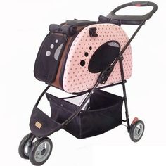 Take your pet along with the Pet Zip Pet Stroller. Easy maneuvering small pet stroller is well-ventilated, sturdy & designed for pets up to 22 lbs.