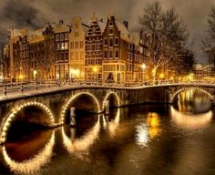Christmas in Amsterdam, Netherlands