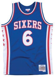 b1b720f0259 Julius Erving Philadelphia 76ers Mitchell amp; Ness Swingman Jersey  BlueSports amp; Outdoors, Amazon