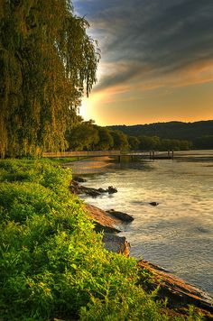 Sunset on Cayuga Lake | Flickr - Photo Sharing!