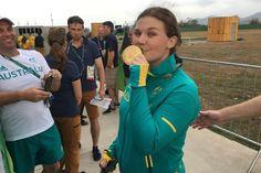 Shooting Womens Trap - Catherine Skinner, Australia -  Rio Olympics 2016