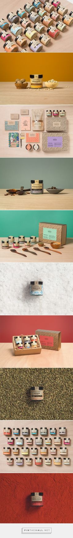 SoulSpice packaging design by studiograu - http://www.packagingoftheworld.com/2017/11/soulspice-taste-that-matters.html