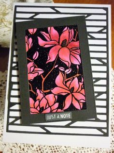 Hero Arts, Copic, Colouring, Birthday Cards, In This Moment, Black And White, Female, Flowers, Blog