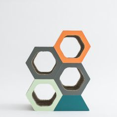 Honeycomb Wine Holder / $34.00 Honeycomb, Cube, Toys, Gifts, Home Decor, Activity Toys, Presents, Decoration Home, Room Decor