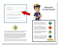 Welcome to Cub Scouts parent booklet