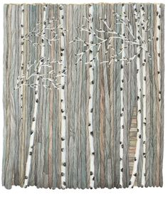 Scandinavian birch, love the colours! This is small, but i would like it as a painting, big!!!