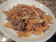 Le Canard Du Mékong : Bœuf sauté aux pommes frites