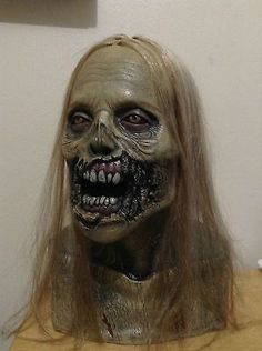 The Walking Dead Bicycle Girl life-size bust sculpture collector limited edition