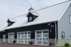 Best White Metal Roof With Dark Gray Siding Metal Roof Houses 400 x 300