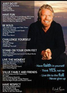 Love #RichardBranson - GREAT example to us all!!