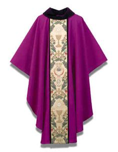 PURPLE TAPESTRY OF LIFE CHASUBLE_1