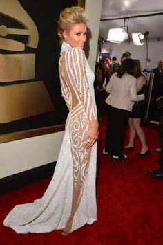 Red Carpet Dresses Grammys 2014 - Celebrities Photos Grammys 2014 - ELLE