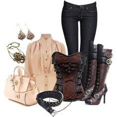 """Steampunking"" by laaudra-rasco on Polyvore"