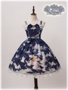 Artemis Lolita -Elissa and The Swans- Lolita Jumper Dress