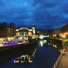 No man ever steps in the same river twice for it's not the same river - #Heraclitus #Nervion #river #bilbao #bilbo #basque #country #sobeautiful #amazing #sky #travel #travelgram #instatravel #instatraveling #ig_travel
