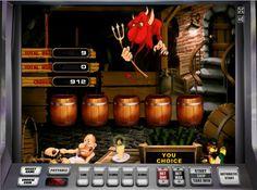 #Онлайн #автомат #Черти - накоси #денег и обыграй самого дьявола!