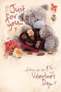 Florynda del Sol ღ☀¨✿ ¸.ღ ♥Tatty Teddy Love♥ Anche gli Orsetti hanno un'anima…♥ Bear Valentines, Happy Valentines Day, Tatty Teddy, Teddy Bear, Bears, Plush, Posts, 3d, Hairstyles Videos