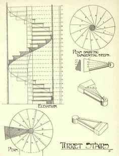 Google Image Result for http://chestofbooks.com/architecture/Modern-Buildings-Construction-V5/images/Stone-Stairs-187.jpg Spiral Stairs Design, Staircase Design, Spiral Staircase Plan, Stair Plan, Stair Detail, Steel Stairs, Modern Stairs, Modern Buildings, Interior Stairs