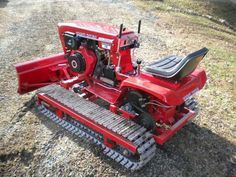 Project Gallery Details Page - MillerWelds Yard Tractors, Lawn Mower Tractor, Small Tractors, Antique Tractors, Vintage Tractors, Wheel Horse Tractor, Tractor Accessories, Atv Accessories, Homemade Tractor