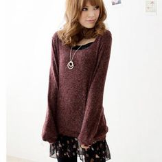 Buy 'Tokyo Fashion – Set: Knit Top   Ruffle Slipdress' with Free International Shipping at YesStyle.com. Browse and shop for thousands of Asian fashion items from Taiwan and more!
