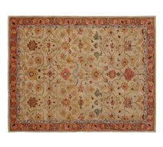 Pottery Barn Elham Persian 8X10 wool Area rug carpet #New #Contemporary