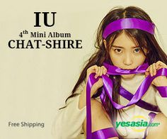 #IU Mini Album Vol. 4 - Chat-shire --Click on the pic to order now-- #Kpop