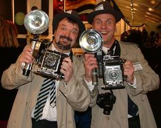 "hire ""paparazzi"" and find some cool old cameras"