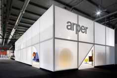 designed salone mobile milano arper booth maio more with less for the del by Arper Booth designed by MAIO for the Salone del Mobile Milano More with lessYou can find Exhibition booth design and more on our website Exhibition Stall, Exhibition Booth Design, Exhibition Display, Exhibit Design, Cubes, Pavillion Design, Shop Facade, Clinic Design, Showroom Design