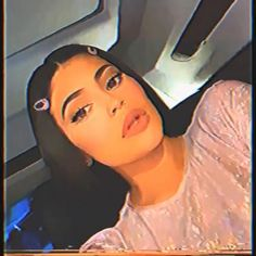 Kylie Jenner Lipstick, Kylie Jenner Gif, Trajes Kylie Jenner, Kylie Jenner Outfits, Kendall Jenner Makeup, Kylie Jenner Instagram, Badass Aesthetic, Aesthetic Movies, Bad Girl Aesthetic