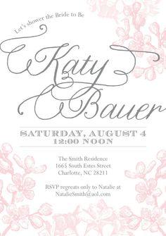 Bridal Shower Invitation by CoppiaCreativa on Etsy, $3.15