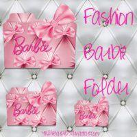 Pink Barbie Folder Icon 2