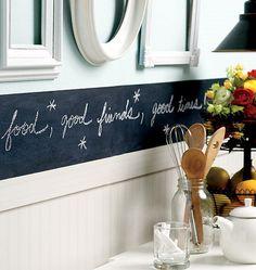 Wallies Chalkboarder Slate Gray Wall Sticker - Wall Sticker Outlet