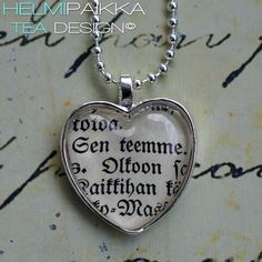 Sen teemme 20€ Tea Design, Dog Tags, Dog Tag Necklace, Accessories, Jewelry, Jewlery, Jewerly, Schmuck, Jewels