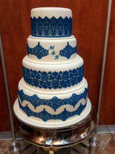 Modrá ☺ torta, Svadobné torty