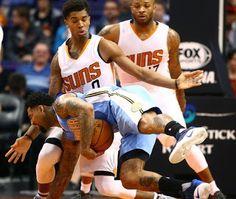 Blog Esportivo do Suíço:  Nuggets contam com um reserva de mãos quentes para vencer os Suns