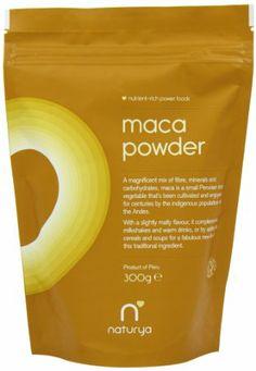 Naturya Organic Maca 300 g Nutritional Power Food Pouch: Amazon.co.uk: Health & Personal Care £8.99